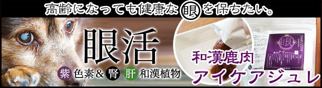 みらいのドッグフード【和漢】鹿肉アイケアジュレへ